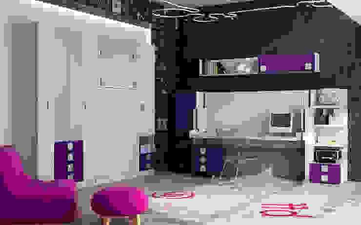 Dormitorios de estilo  por Muebles Parchis. Dormitorios Juveniles.