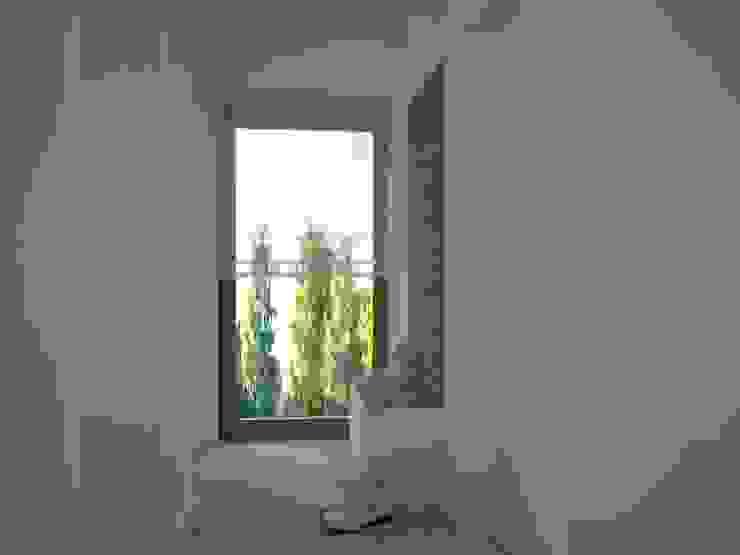 Dom w Łodzi Nowoczesny korytarz, przedpokój i schody od Kameleon - Kreatywne Studio Projektowania Wnętrz Nowoczesny
