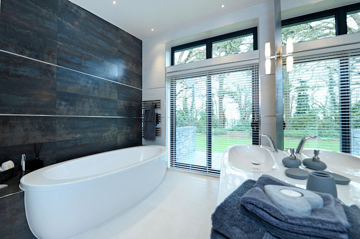 Baños de estilo  por Jigsaw Interior Architecture , Moderno
