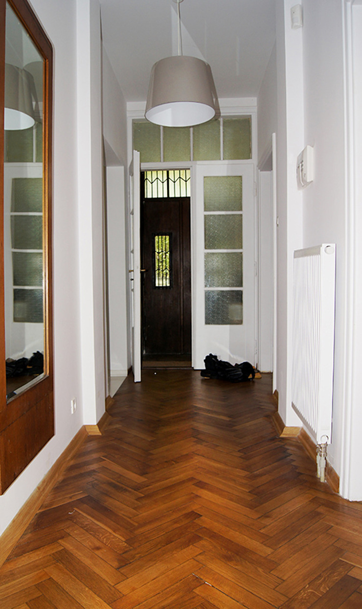 ZAZA studio Ingresso, Corridoio & Scale in stile scandinavo