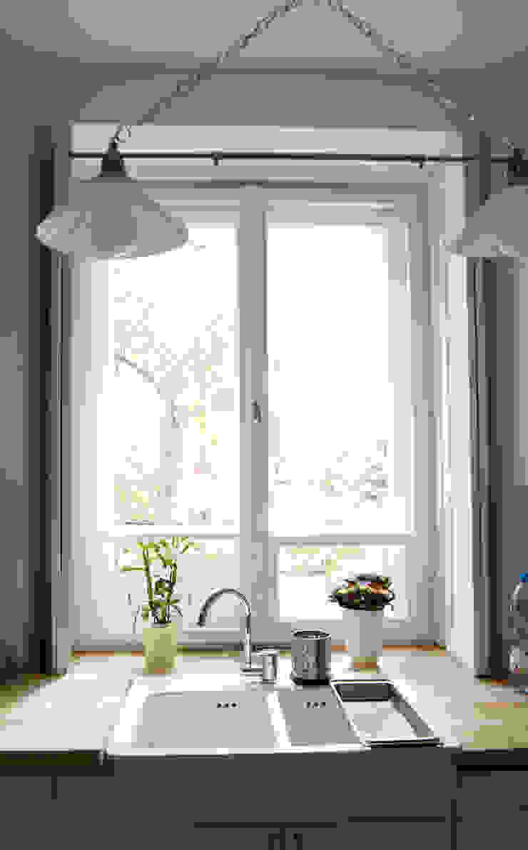 Scandinavian style kitchen by ZAZA studio Scandinavian