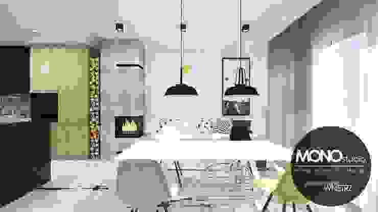Scandinavian style dining room by MONOstudio Scandinavian