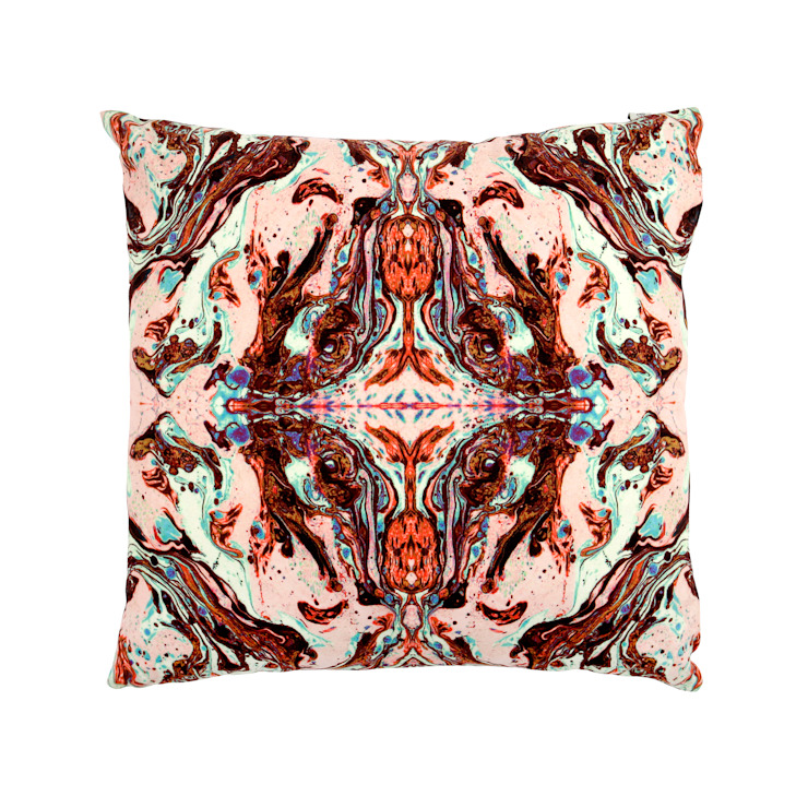 DELTA PINK CUSHION Wolf And Badger HouseholdTextiles