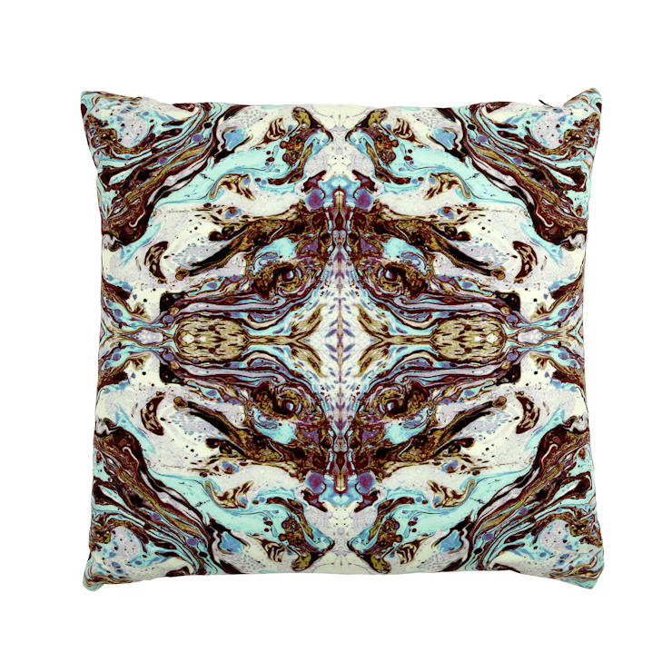 DELTA MINT CUSHION Wolf And Badger HouseholdTextiles