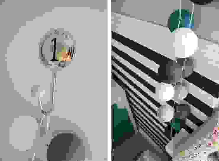 lampki cotton ball light- nie mogło ich zabraknąć. od PRACOWNIA PROJEKTOWA SHEKOKU Sabina Kulaszewicz Skandynawski