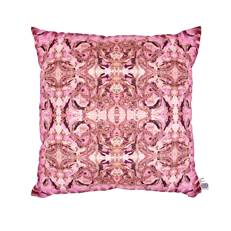 ROYAL PINK CUSHION Wolf And Badger HouseholdTextiles