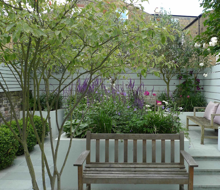 Small urban garden Ruth Willmott Jardin moderne