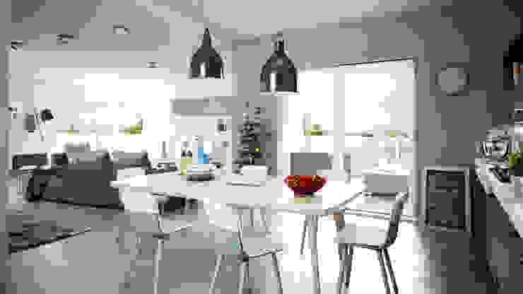 Livings de estilo  por SMAG design  , Escandinavo