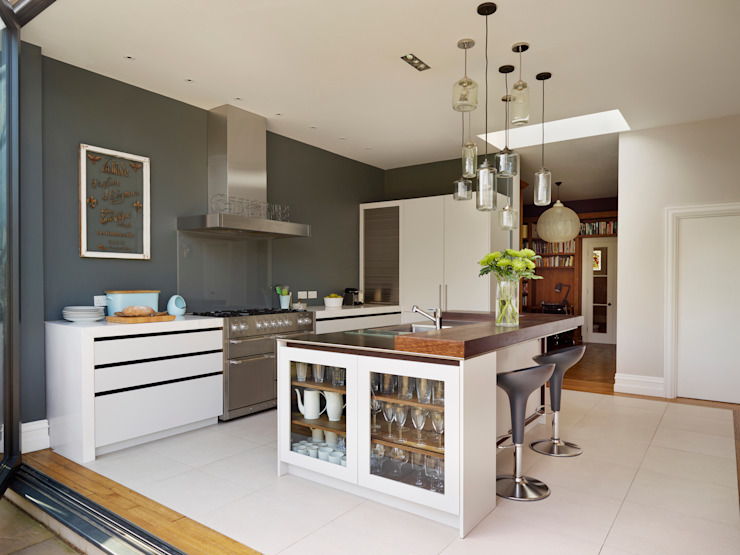 Perryn Road Cocinas de estilo moderno de ReDesign London Ltd Moderno