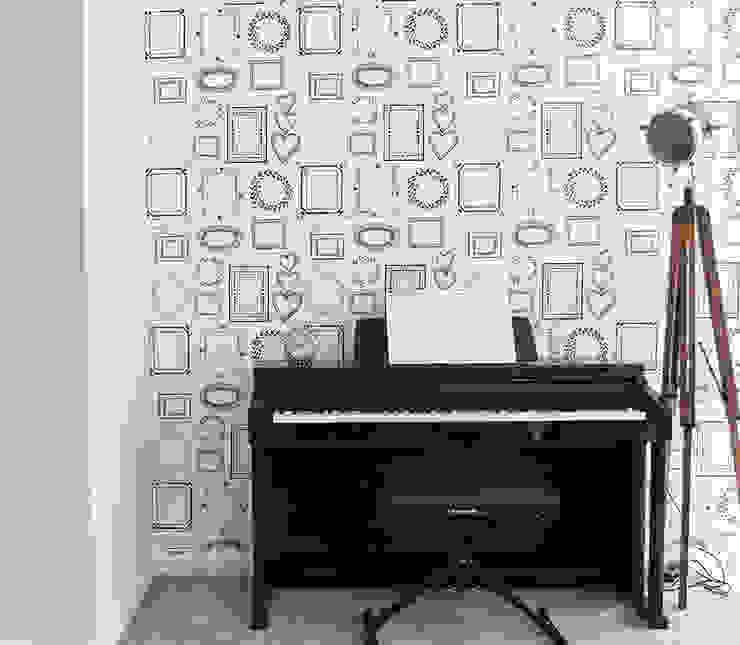 Custom designed wallpaper: modern  by Vinyl Impression, Modern