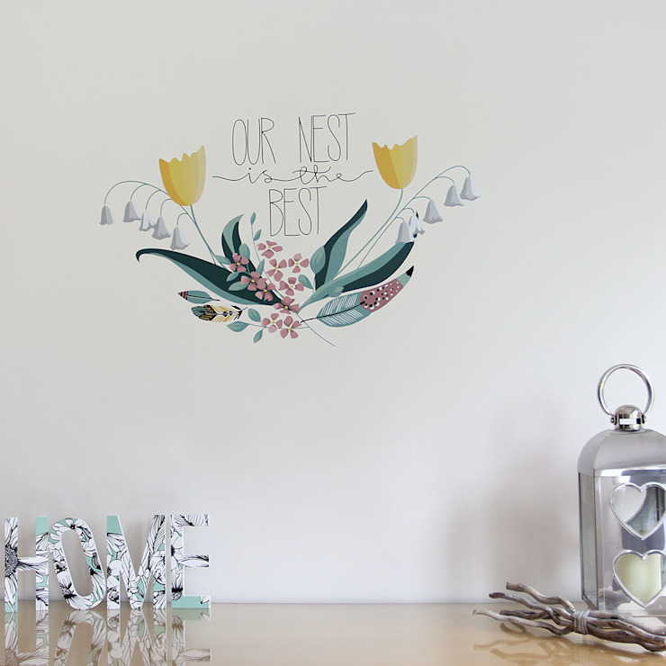 Our nest is the best wall sticker por Vinyl Impression Campestre