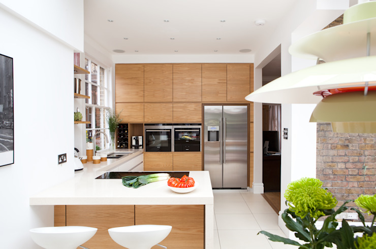 Fielding Road Modern kitchen by Hamilton King Modern