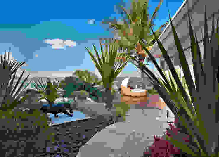 Residência Interior Minas Gerais Jardins modernos por CP Paisagismo Moderno