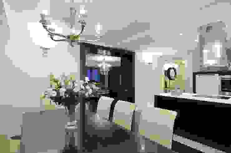 Квартира как номер-сьют в отеле. Столовая комната в стиле модерн от Меречко Людмила Модерн