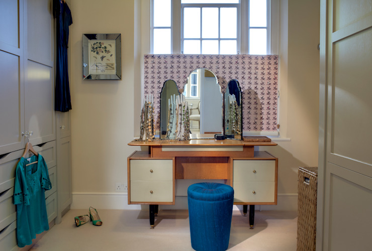 Barnsbury Park Eclectic style dressing room by ReDesign London Ltd Eclectic