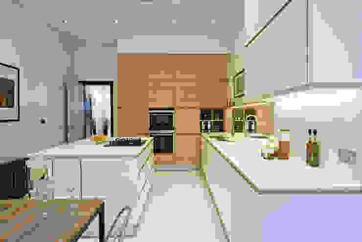 Tabard Street Scandinavian style kitchen by Hamilton King Scandinavian