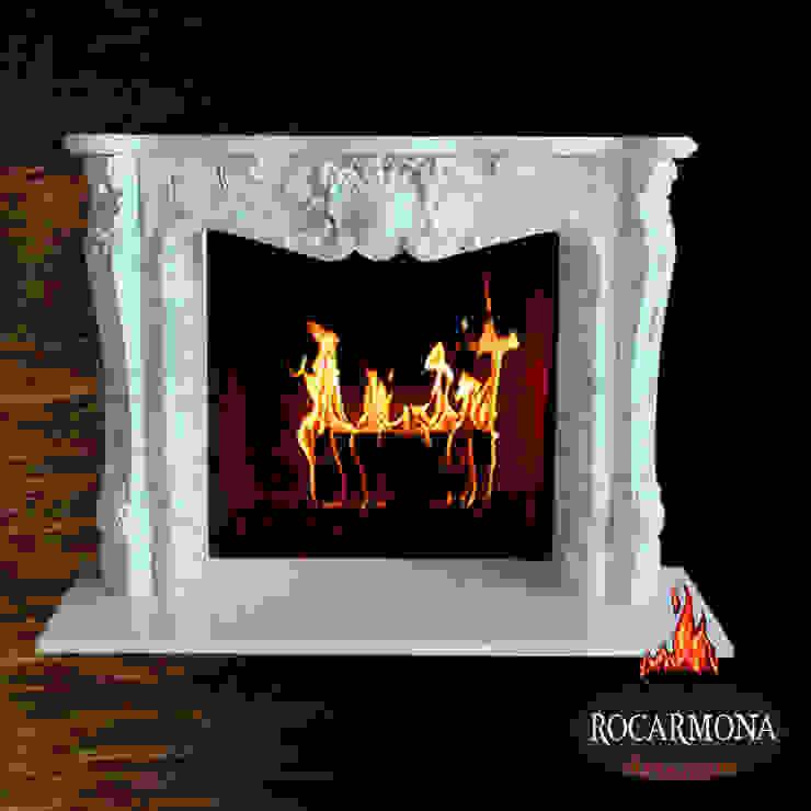 chimenea mod budapest de Rocarmona Artesanos,s.l. Clásico