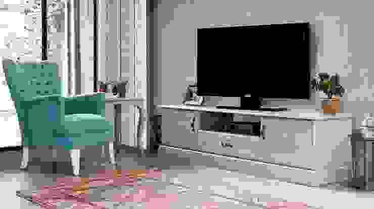 Grey Tv Sehpası Berke Mobilya Klasik