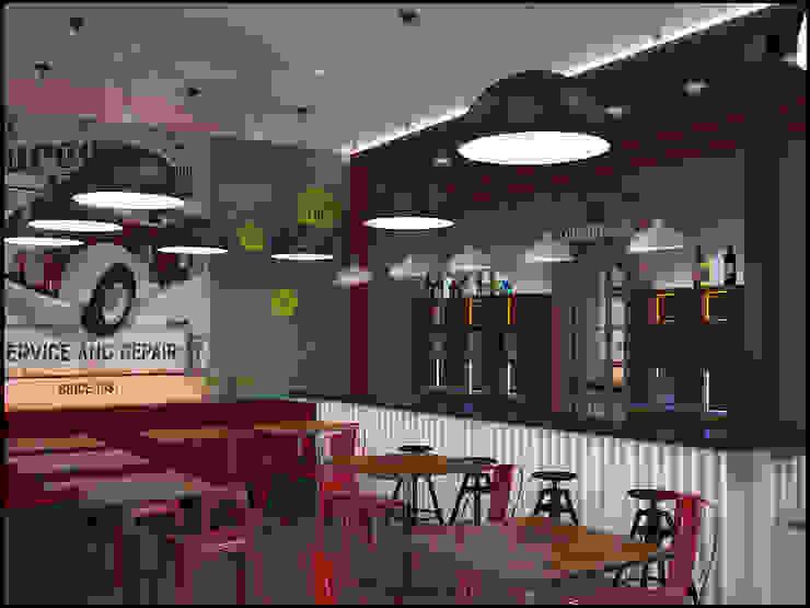 Концепции кафе Бары и клубы в эклектичном стиле от Частный дизайнер и декоратор Девятайкина Софья Эклектичный