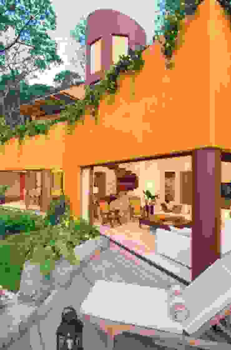 CASA MÉXICO Garden Fencing & walls