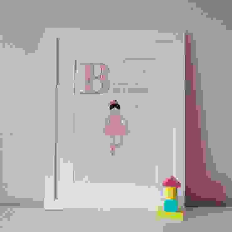 B is for Ballerina :: Personalised Print Hope & Rainbows Nursery/kid's roomAccessories & decoration
