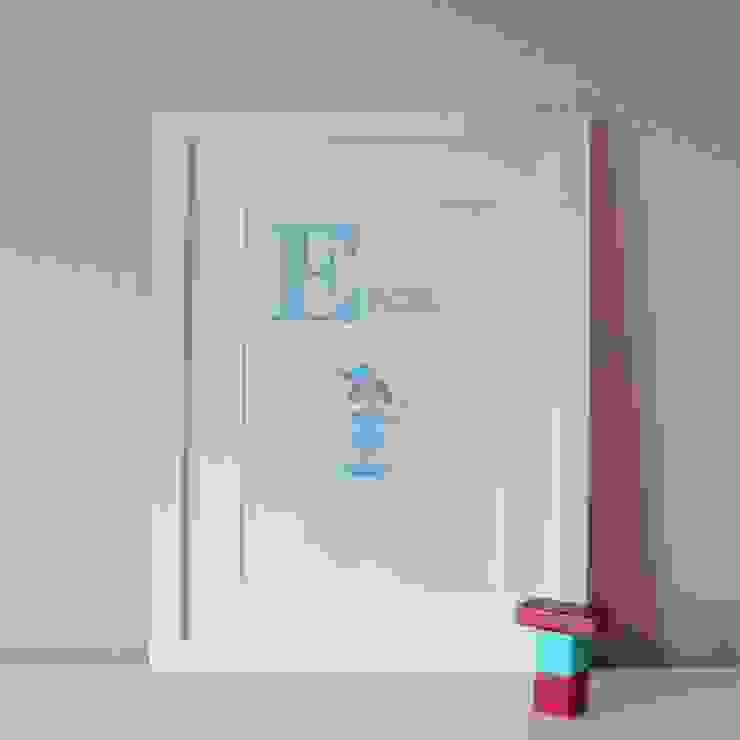 E is for Elf :: Personalised Print Hope & Rainbows Nursery/kid's roomAccessories & decoration