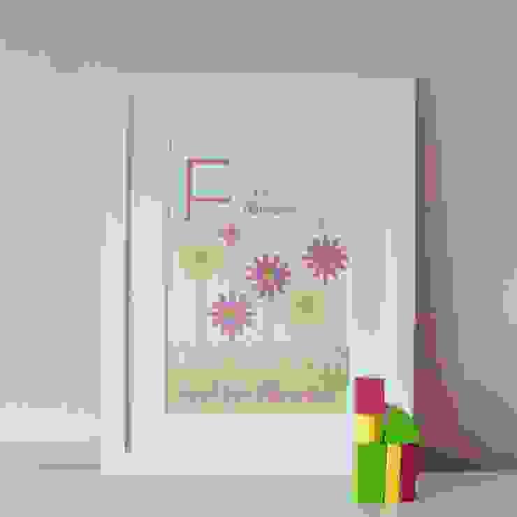 F is for Flowers :: Personalised Print Hope & Rainbows Nursery/kid's roomAccessories & decoration