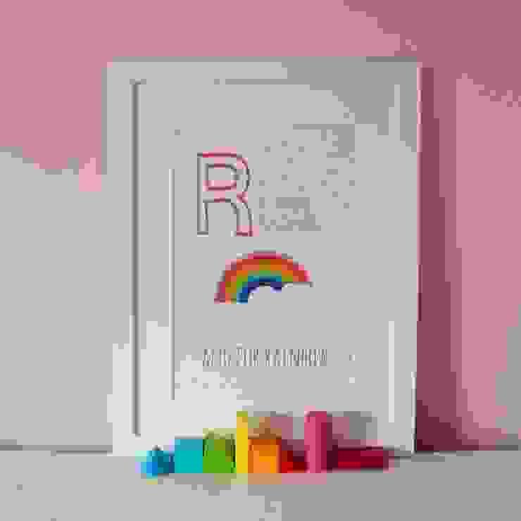 R is for Rainbow :: Personalised Print Hope & Rainbows Nursery/kid's roomAccessories & decoration