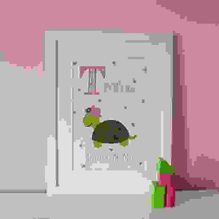T is for Turtle {Pink} :: Personalised Print Hope & Rainbows Nursery/kid's roomAccessories & decoration