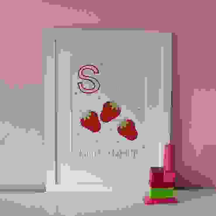 S is for Strawberries :: Personalised Print Hope & Rainbows Nursery/kid's roomAccessories & decoration