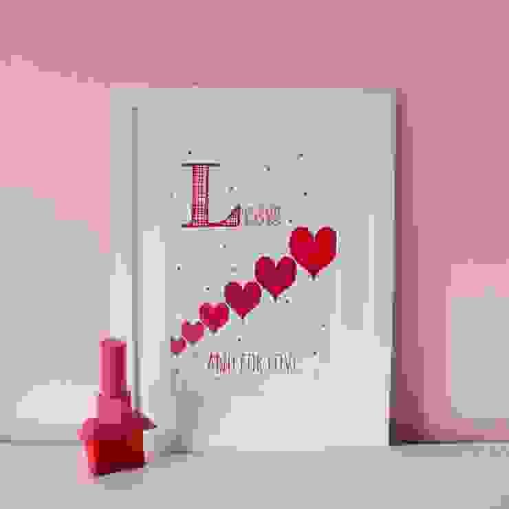 L is for Love :: Personalised Print Hope & Rainbows Nursery/kid's roomAccessories & decoration