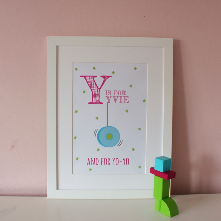 Y is for Yo Yo :: Personalised Print Hope & Rainbows Nursery/kid's roomAccessories & decoration