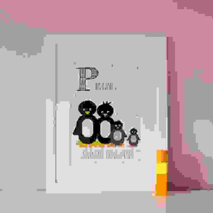 P is for Penguins :: Personalised Print Hope & Rainbows Nursery/kid's roomAccessories & decoration