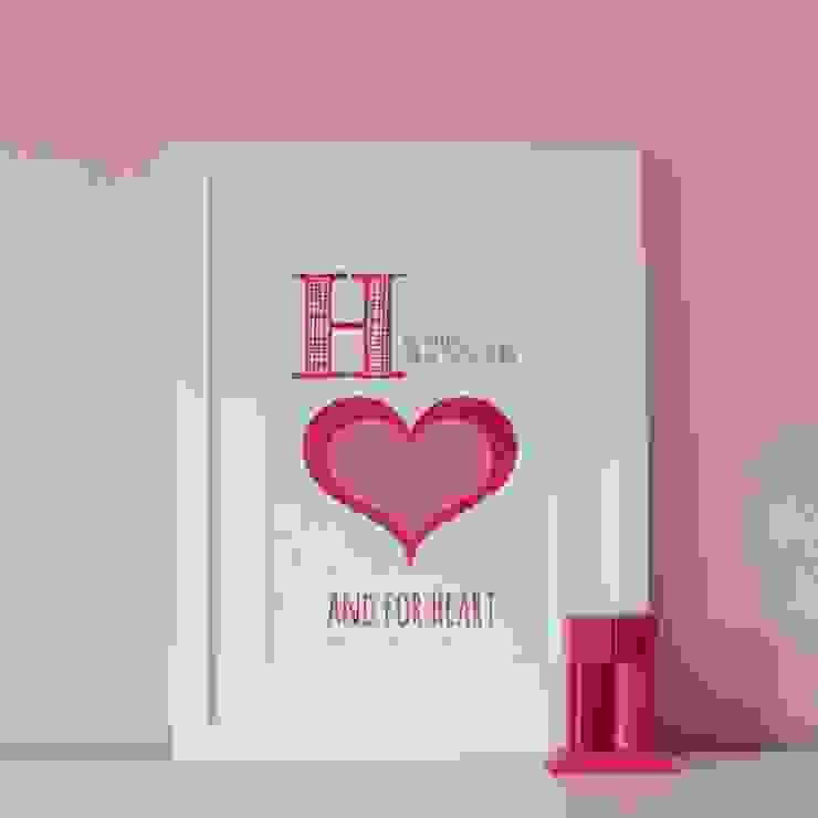 H is for Heart :: Personalised Print Hope & Rainbows Nursery/kid's roomAccessories & decoration