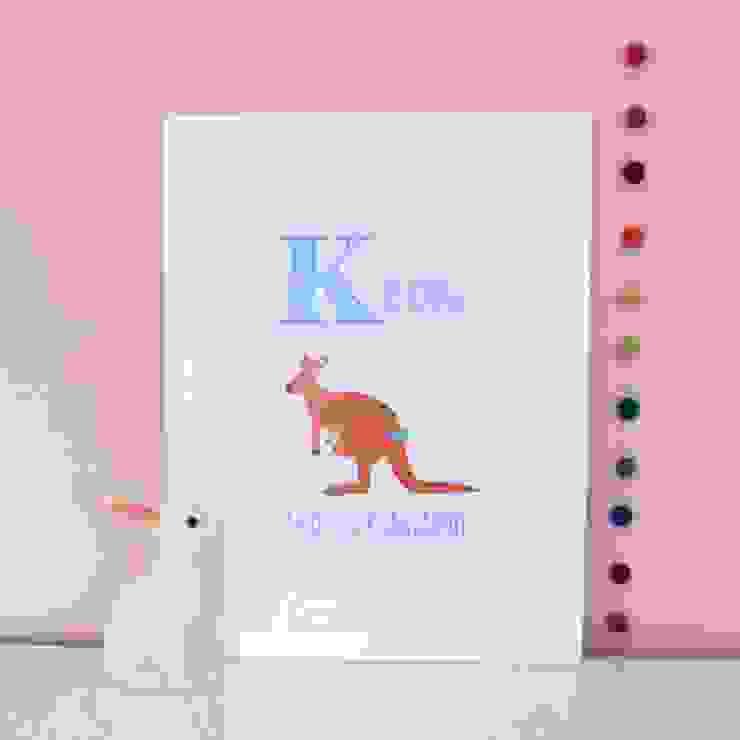 K is for Kangaroo :: Personalised Print Hope & Rainbows Nursery/kid's roomAccessories & decoration