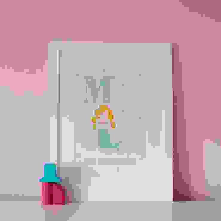 M is for Mermaid :: Personalised Print Hope & Rainbows Nursery/kid's roomAccessories & decoration