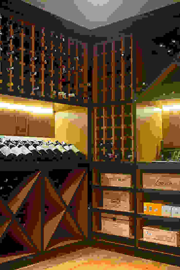 Raquel Junqueira Arquitetura Bodegas de vino de estilo rural