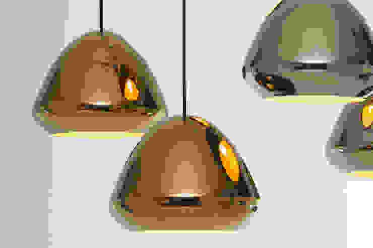 Ross Gardam Glaze ceramiczna, ręcznie formowania lampa sufitowa z Australii Nowoczesny salon od ilumia.pl Nowoczesny