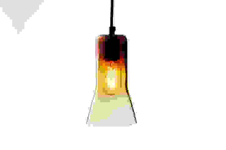 Ross Gardam The Touch lampa wisząca z grubego szkła dmuchanego ustami od ilumia.pl Nowoczesny