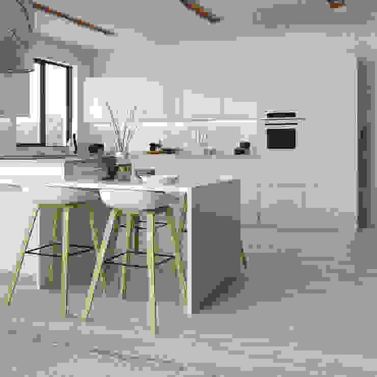白色的厨房设计,你喜欢吗?白色厨房橱柜适合自己吗?