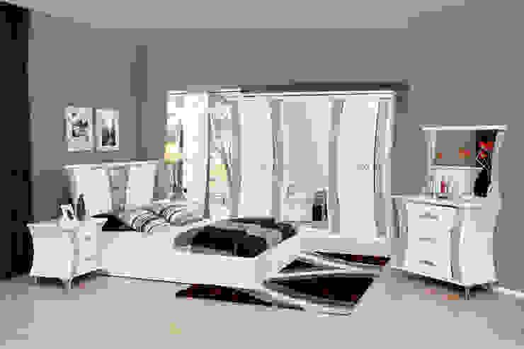 Tuna Mobilya – Kelebek Yatak odası: modern tarz , Modern