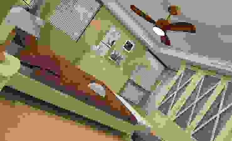 Render Dormitorio Dormitorios de estilo clásico de AG INTERIORISMO Clásico