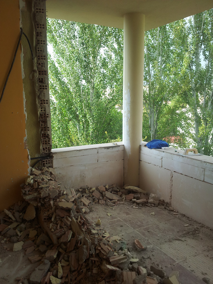 Reforma dormitorio (incluir terraza) de AG INTERIORISMO Mediterráneo