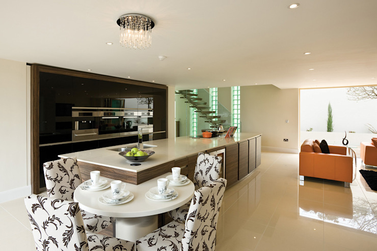 22 Chaddesley Glen Modern kitchen by David James Architects & Partners Ltd Modern