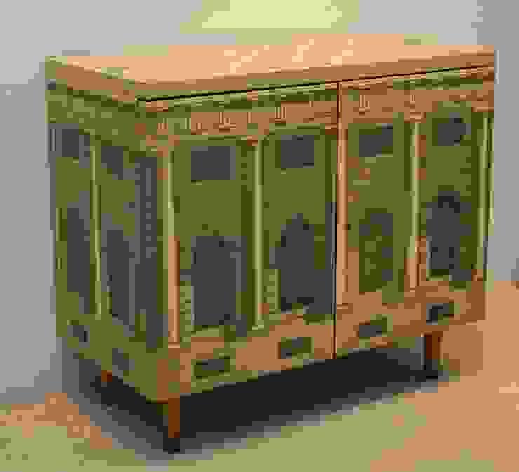 Fornasetti cabinet. Italian, 1950s De Parma Klasik