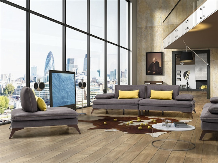 Living room by OSMANOĞULLARI MOBİLYA,