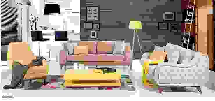 Osmanoğulları Mobilya Modern Oturma Odası OSMANOĞULLARI MOBİLYA Modern