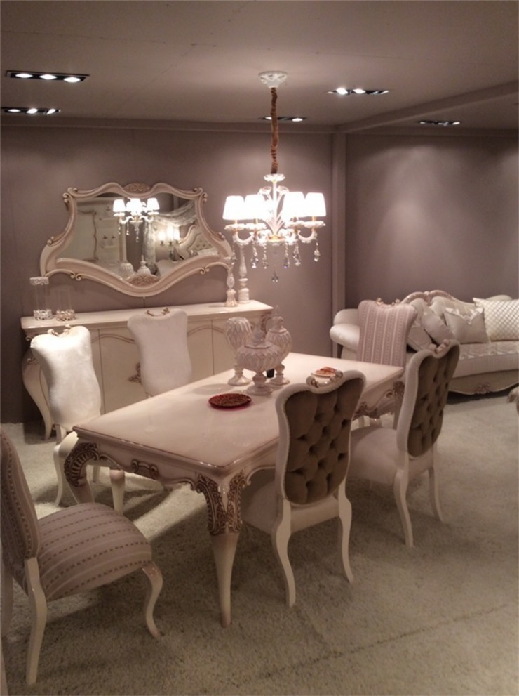 Classic style dining room by OSMANOĞULLARI MOBİLYA Classic