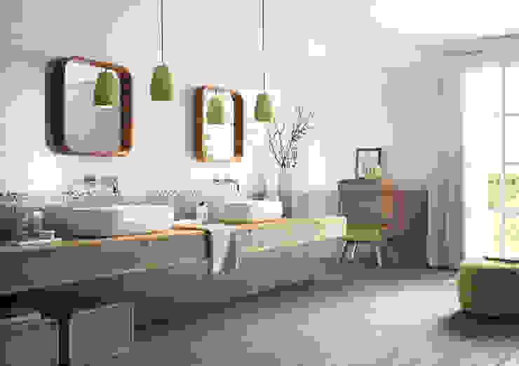 Cote d'Azure Tile Series Tileflair 現代浴室設計點子、靈感&圖片