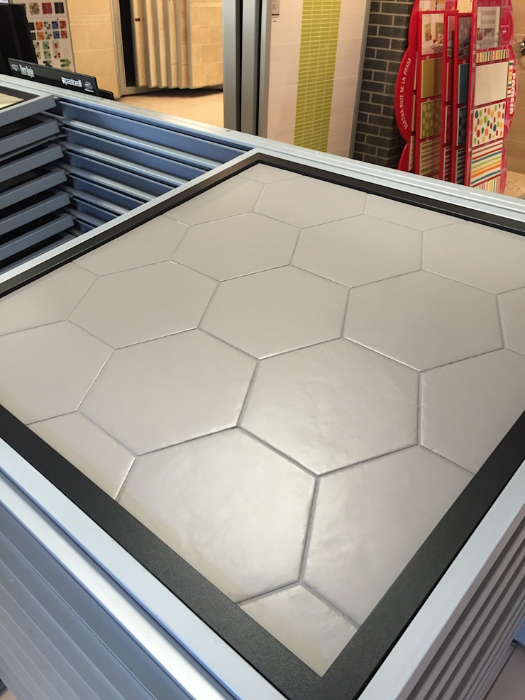 Hexagonal Floor Tiles Tileflair Modern walls & floors